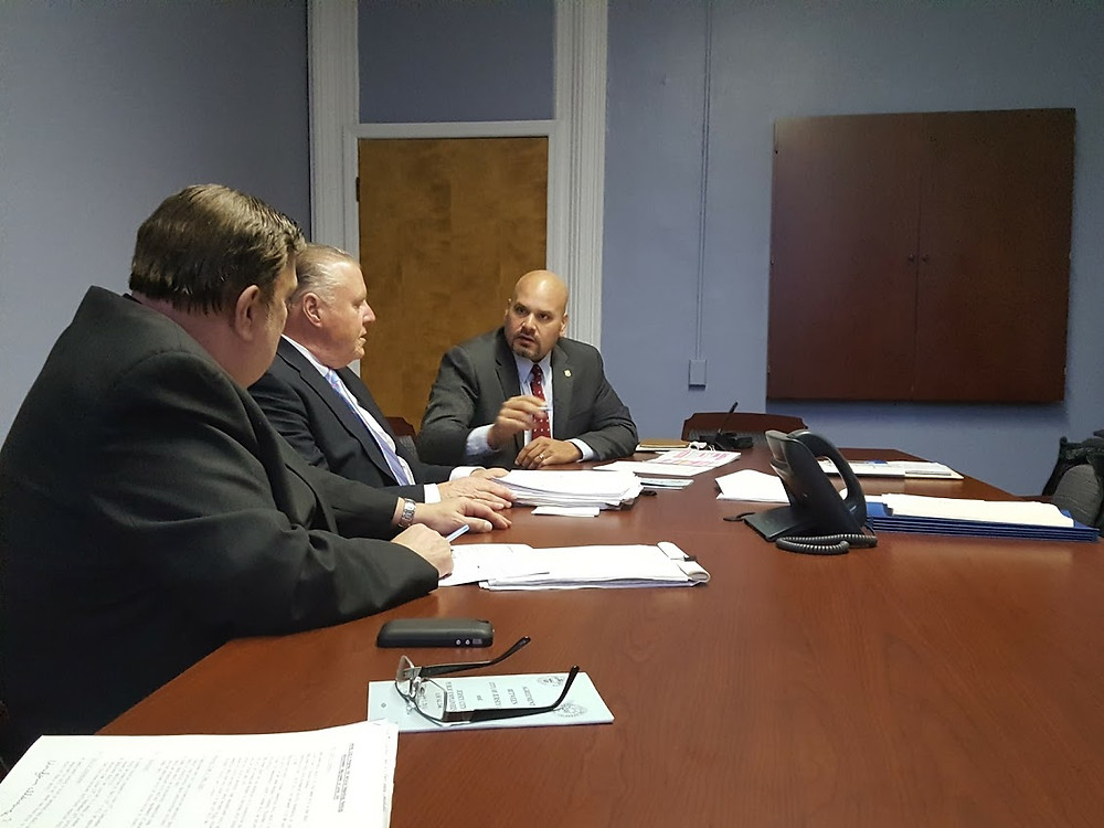 Union Board Discussing Negotiation Items