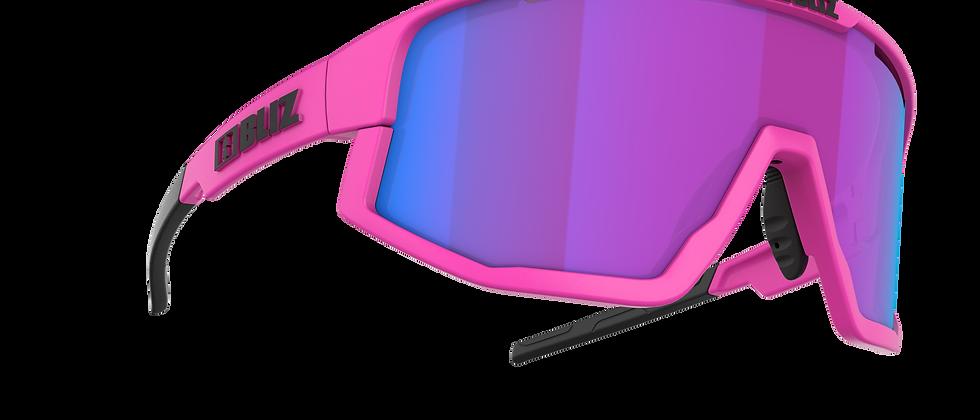 Fusion Nano Optics Nordic Light - Matt Neon Pink - Begonia w Blue multi - Cat 2