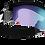 Thumbnail: Proflip MAX Small Face - Black - Light Orange w Blue multi - CAT.1 + CAT. 0 & 3