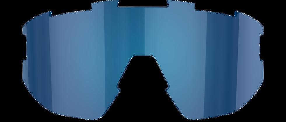 Matrix Small Spare lenses - Smoke w Blue multi - CAT.3 VLT 14%