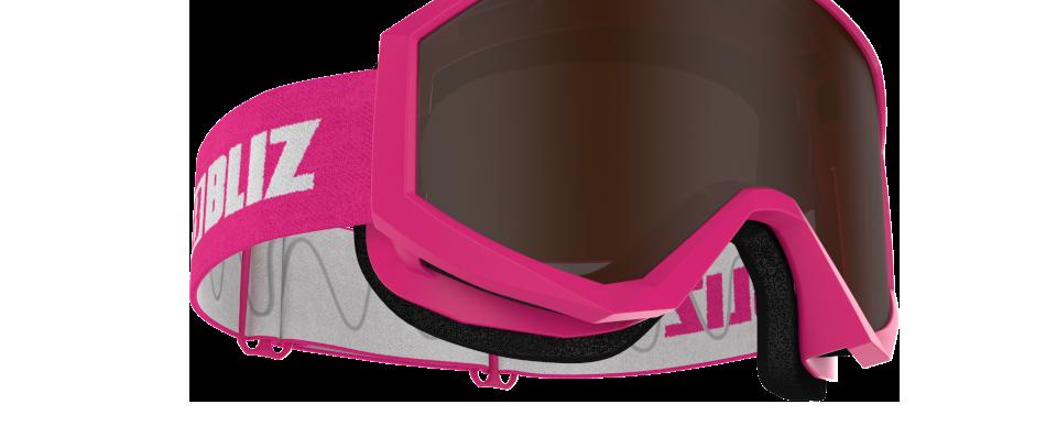 Liner JR - Pink  - Brown single lens - CAT. 3 VLT 14 %