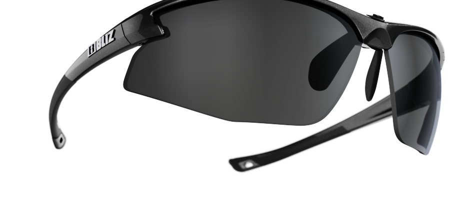 Motion - Metallic Black - Smoke w Silver mirror - Cat 3 VLT 10%
