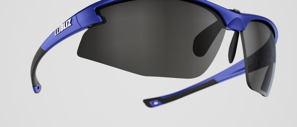 Motion - Metallic Blue - Smoke w Silver mirror - Cat 3 VLT 10%
