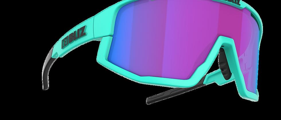 Fusion Nano Optics Nordic Light - Matt Turquoise - Begonia w Blue multi - Cat 2