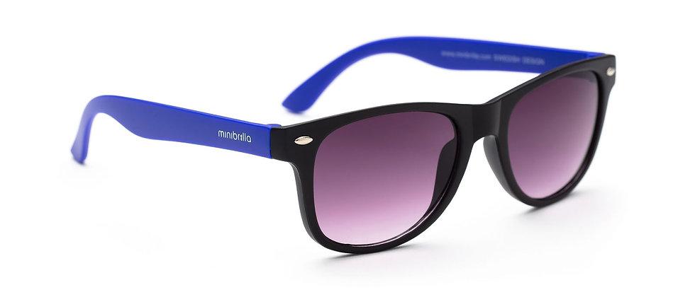 Minibrilla Matt black/blue - P3