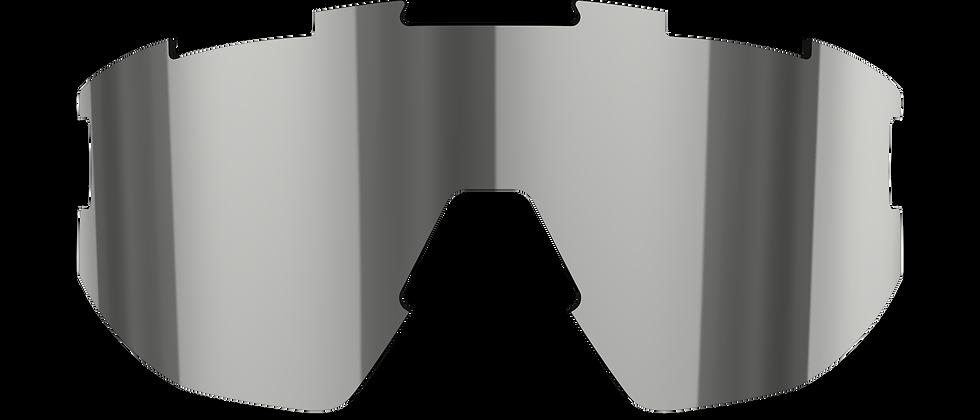 Fusion & Matrix - Spare lenses - Smoke w Silver mirror - Cat 3 VLT 14%