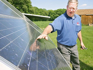 La Salle NewsTribune: Solar power about to shine here
