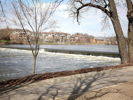 Kane County Chronicle: State funding steps up Fox River dam removal projects