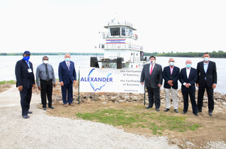 Capitol News Illinois: State investing $40M in Cairo river port