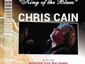 King Of The Blues - Chris Cain & The Rodger Fox Big Band