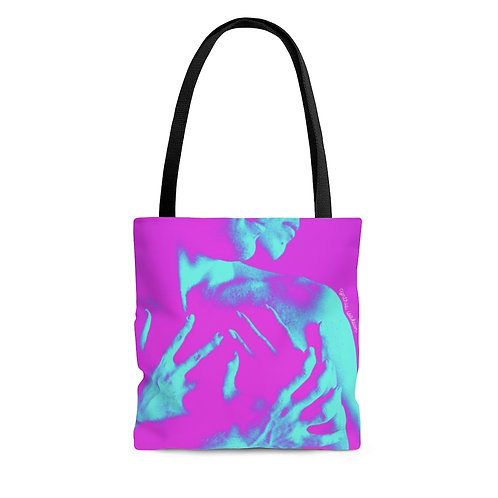Color Tote Bag - Pink/Blue bodies