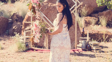 Modern Boho Winter Wedding ~ Styling Inspiration