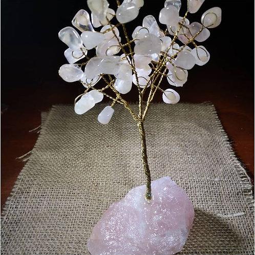 Rose Quartz Gem Tree