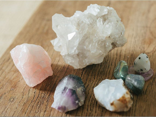 Assorted Raw Crystals