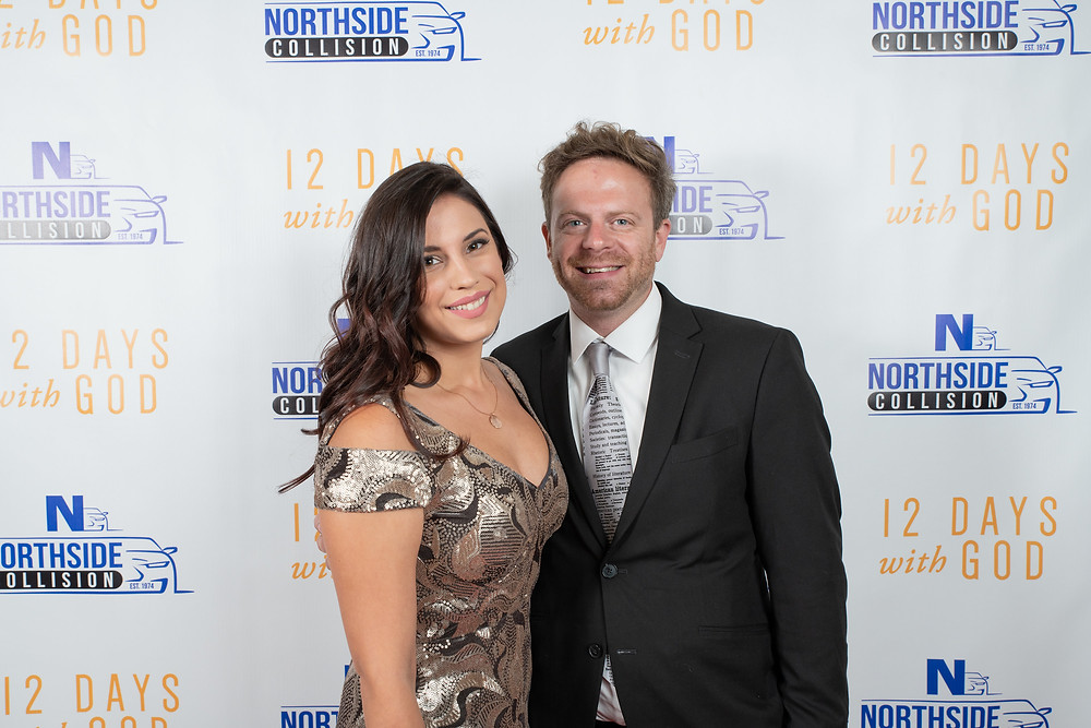 Clare Lopez at 12 Days with God Premier - Photo by Lepore Designs