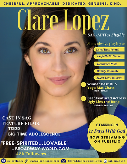 Clare Lopez One Sheet