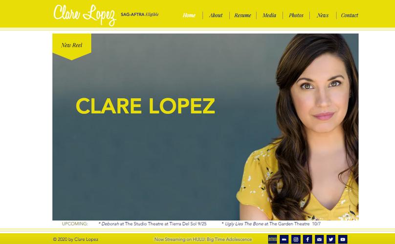 Clare Lopez Website