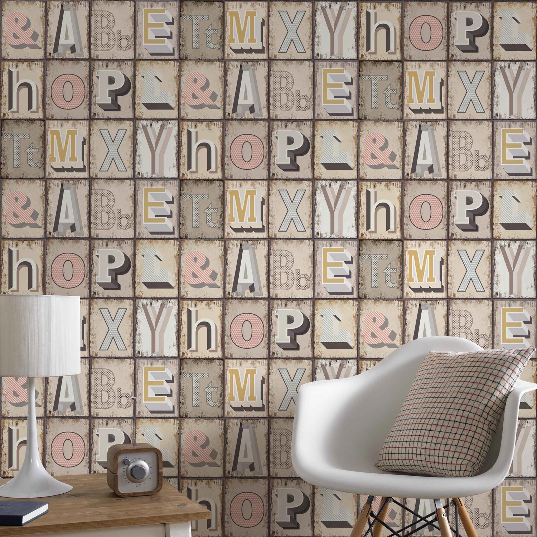 Tapisserie Carreaux De Ciment papier peint | valentine