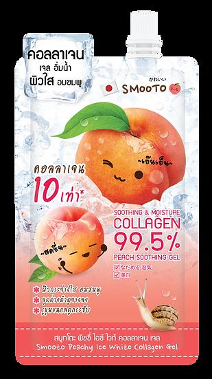 Smooto Peachy Ice White Collagen Gel