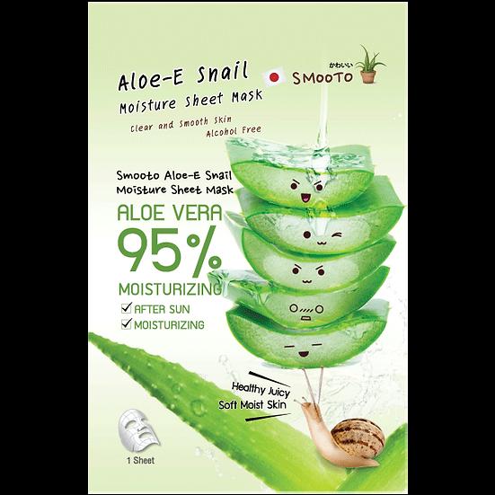 Smooto Aloe-E Snail Moisture Sheet Mask