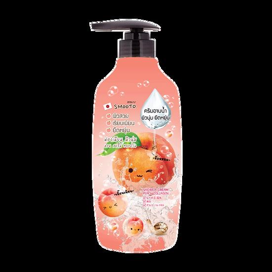 Smooto Peach Collagen Aura Shower Cream