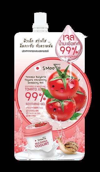 Smooto Tomato Bulgaria Yogurt Whitening Soothing Gel