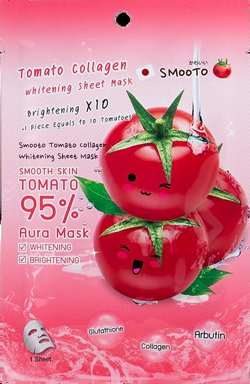 Smooto Tomato Collagen Whitening Sheet Mask