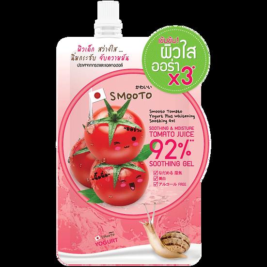 Smooto Tomato Yogurt Plus Whitening Soothing Gel