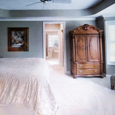 Master Bedroom Post-staged