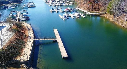 Dock on Lake Norman