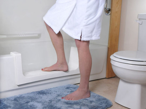 Step-In Tub Cut-Out by The Best Home Guys of Wichita, KS