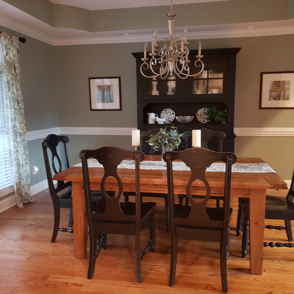 Dining Room post-staged