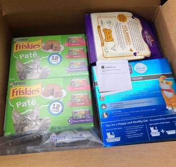 Amazon wishlist donations