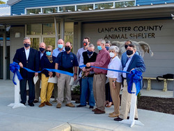 11/5/2020 Ribbon Cutting Ceremony at the new shelter