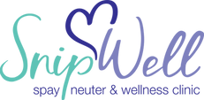 snipwell spay neuter logo