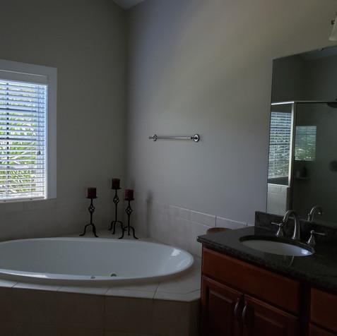 Master Bath pre-staged