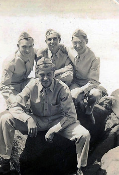 6. Four of my dad's buddies at the Nu'uanu Pali