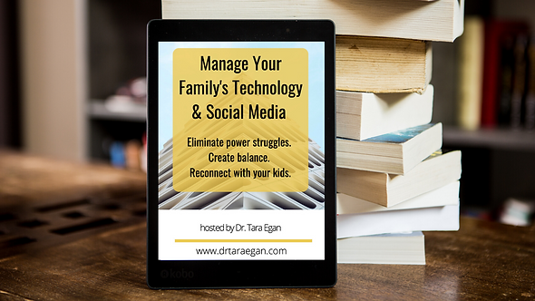 E-Book: Managing Your Family's Technology & Social Media