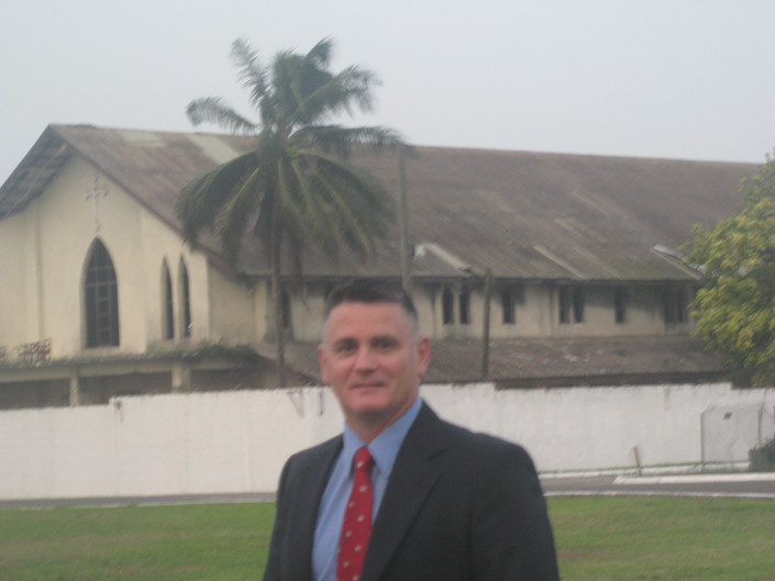 Anthony C. Fabiano in Africa