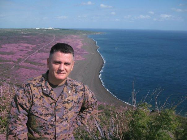 Anthony C. Fabiano in Iwo Jima