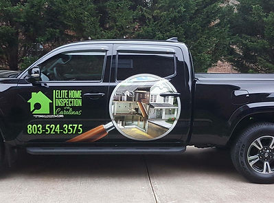 Elite Home Inspection of the Carolinas truck