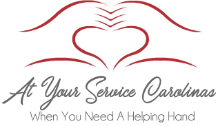 At Your Service Carolinas Logo Cranberry
