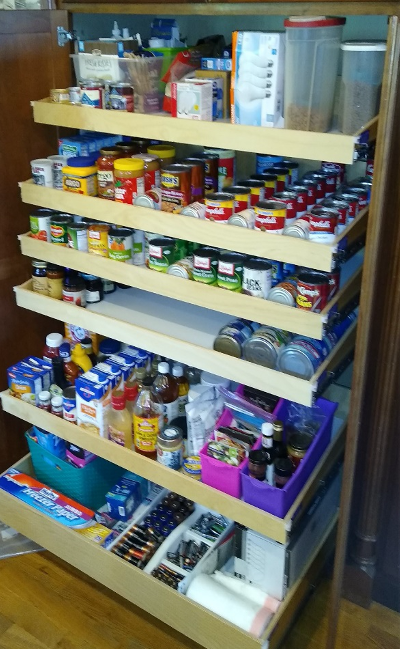 Wouldn't it be nice to to have your pantry organized?