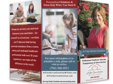 Brochure created for client
