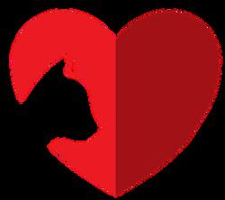 Logo: Heart of a Lion Rescue