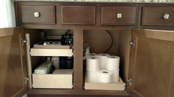 Bathroom Pull Out Shelf