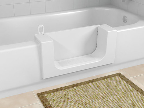 The CleanCut Door adds a left or right swinging, water-tight door. Step-in and still take a full bath! The Best Home Guys of Wichita