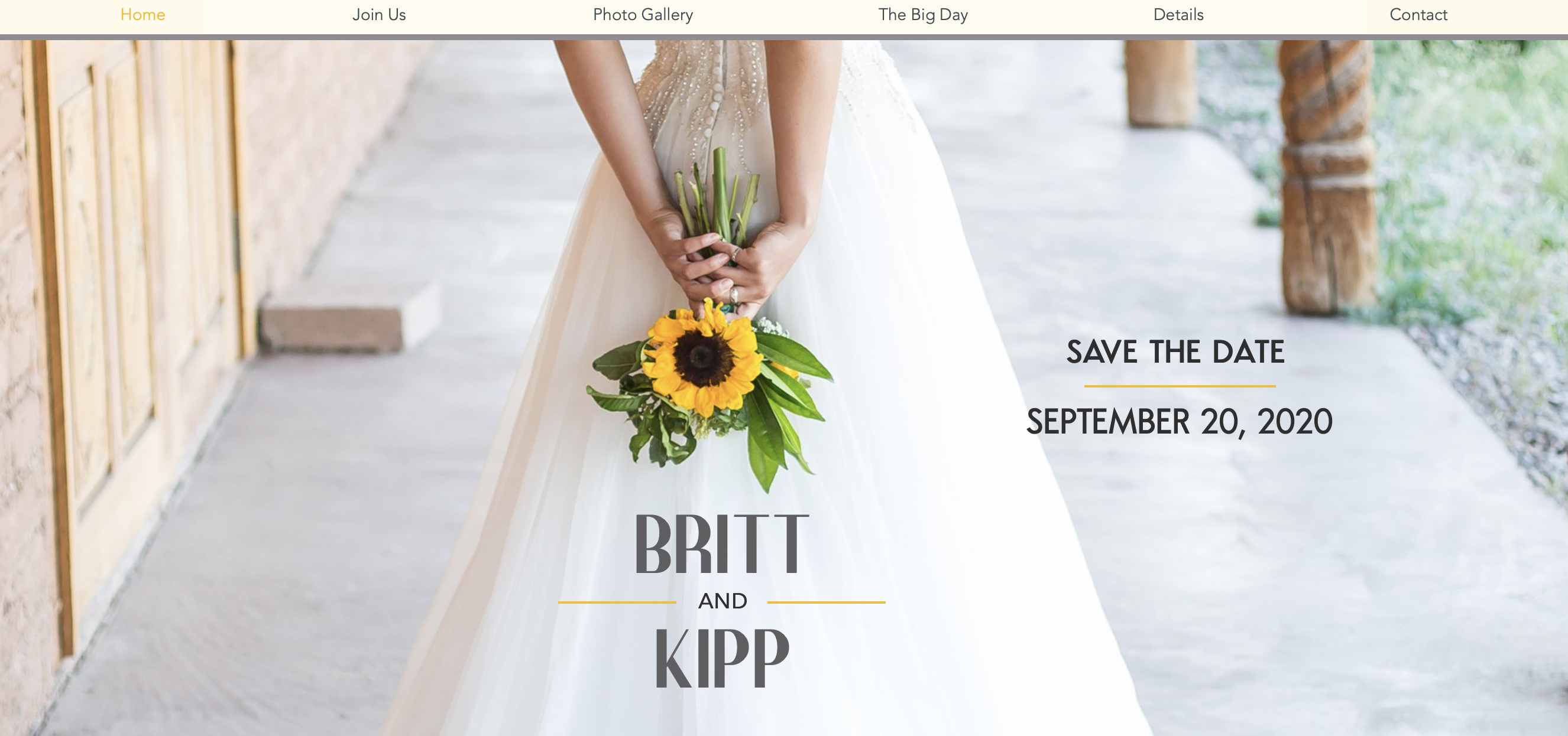 Britt & Kipp 2020
