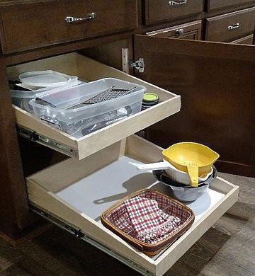 Custom Kitchen Pull Out Shelves