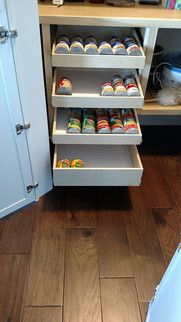 Custom Pantry Storage Solution